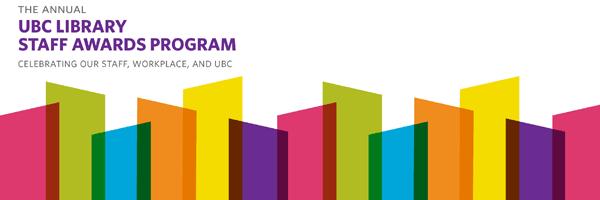 UBC Library Staff Awards Program